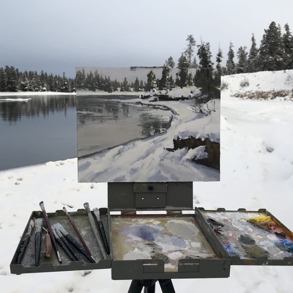 Aaron Schuerr plein air painting | PleinAir Today