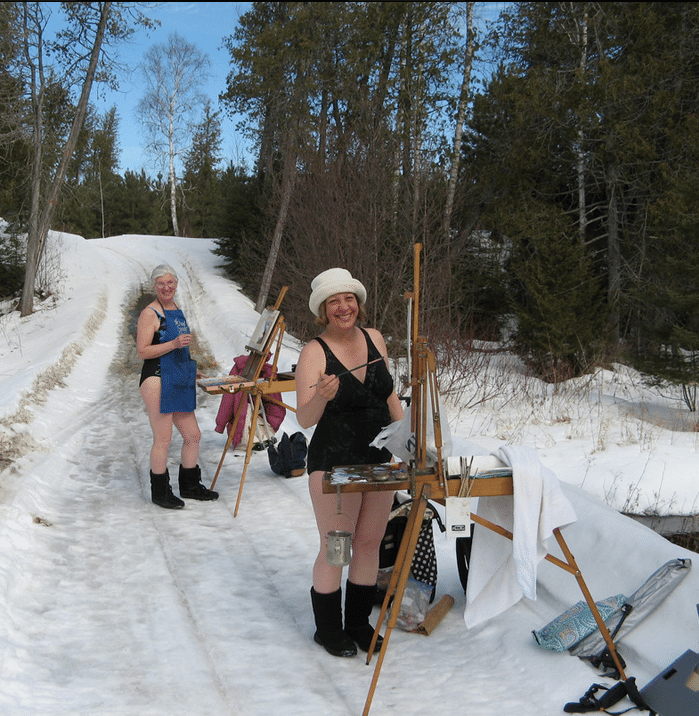 Painting in snow | PleinAir Today