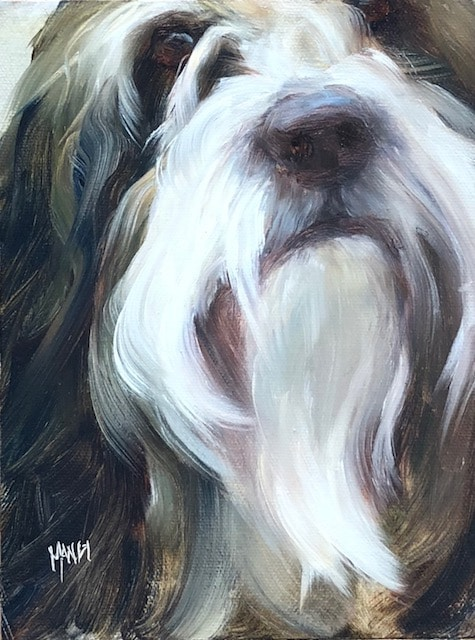 How to Paint Dog Portraits