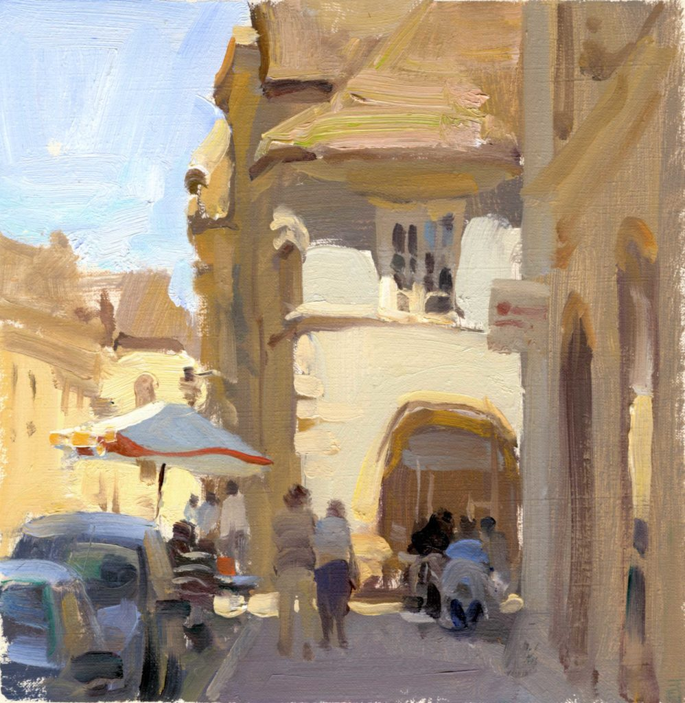 French Afternoon by Kim English - Plein Air magazine