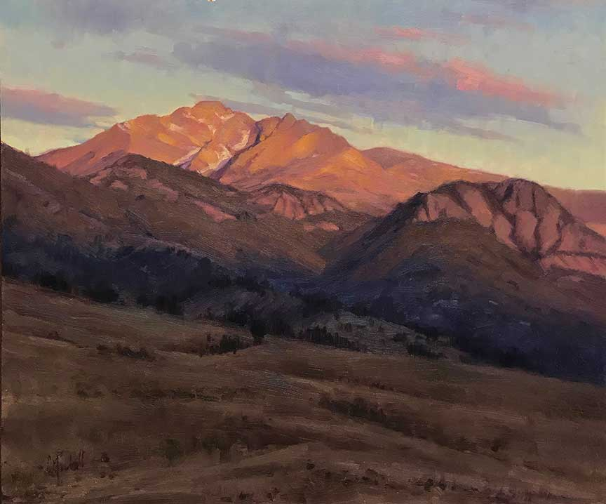Plein air artist Chuck Marshall, OutdoorPainter.com