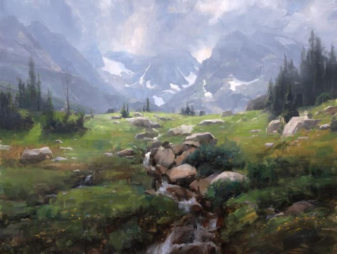 Landscape paintings by Dave Santillanes - OutdoorPainter.com