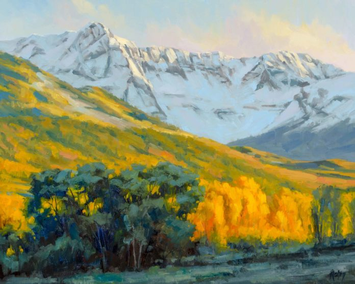Painting landscapes - Bob Rohm - OutdoorPainter.com