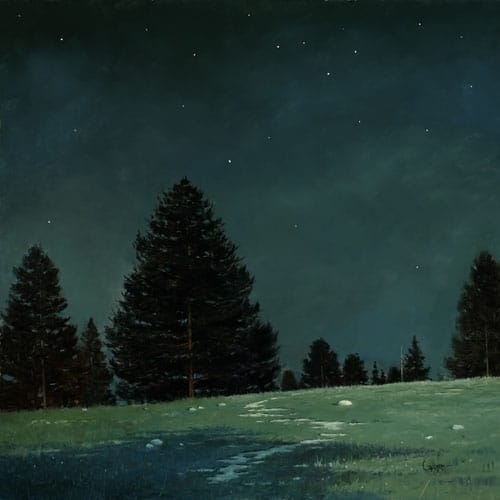 Painting nocturnes en plein air - OutdoorPainter.com