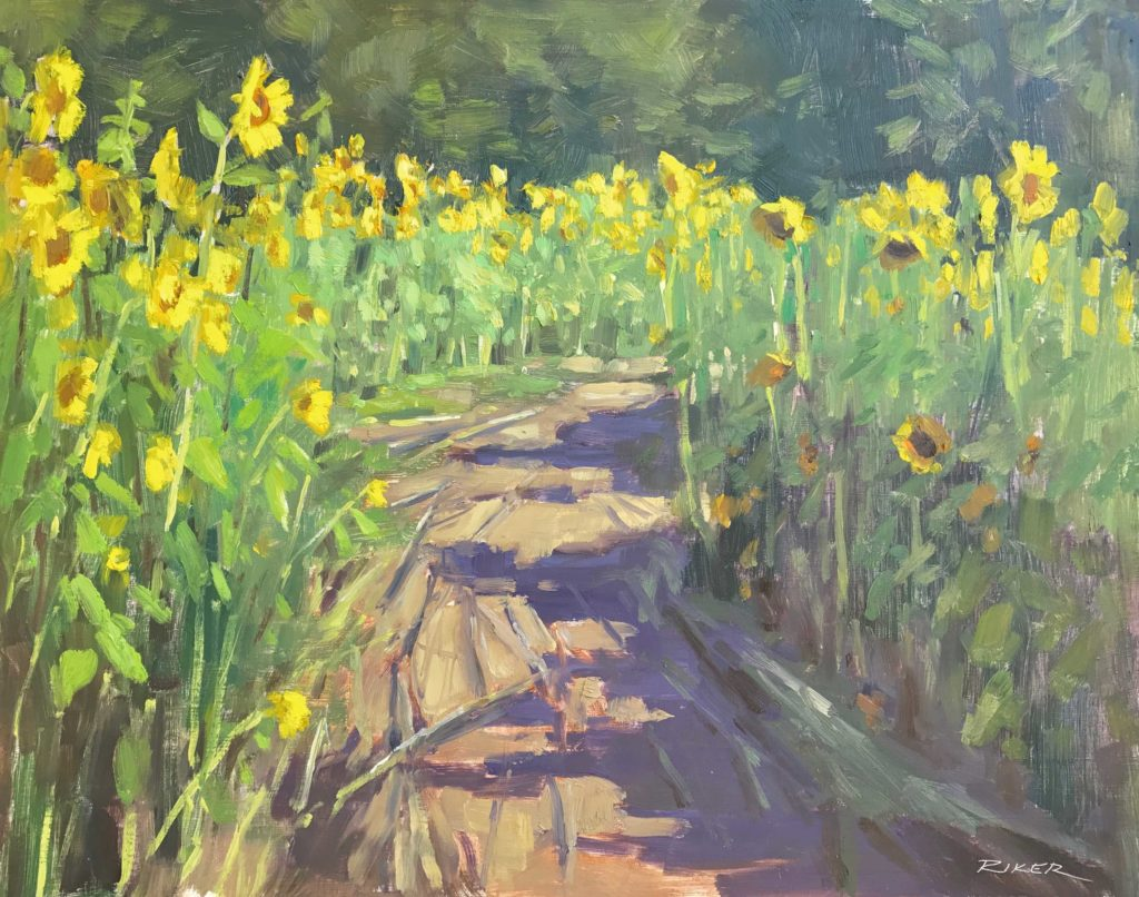 Plein air painting - OutdoorPainter.com
