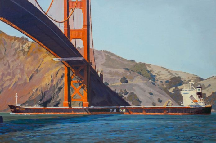 Landscape paintings of San Francisco