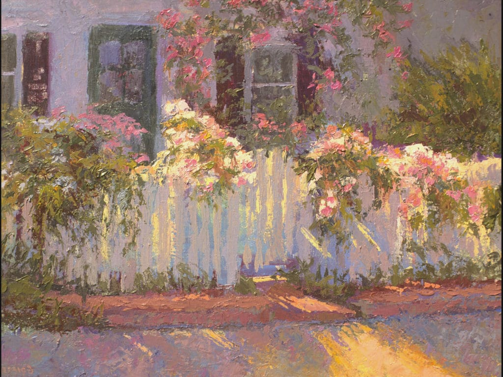 "Lois Griffel, ""Morning Light 8am,"" 12 x 16 in."