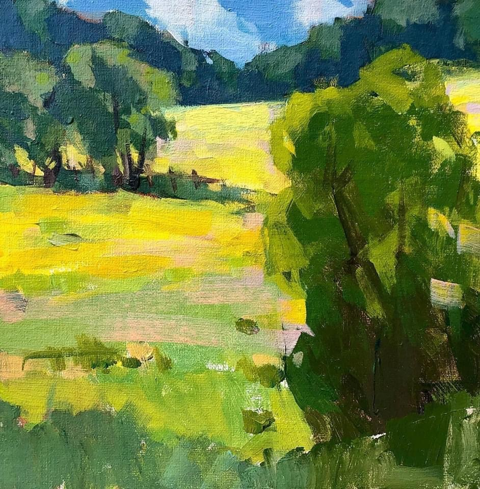 Plein air painting sketches